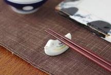 Chopstick / Cutlery rest : Hashioki