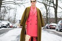 Looks with coat