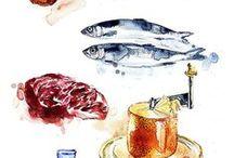 푸드드로잉 / 음식그림