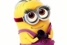 minions are cute / they're cute and funny