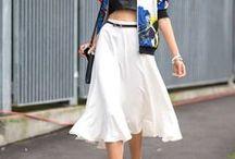 SKIRTS / Skirt Style, Faldas