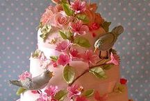 Wedding Cake / beautiful AND delicious