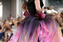Colorful Wedding Gowns / Who says it has to be even a little bit white?