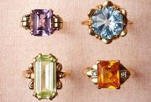 Engagement Ring Inspiration / Diamonds Are A Girls Best Friend
