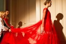 Red Wedding Dresses / It is the color of love after all.