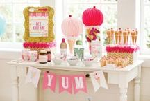 Party Ideas - Girls / Ideas and inspiration for hosting a themed birthday party for girls.