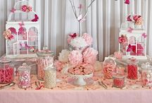 Dessert Tables/Candy Buffets / Inspirational and beautiful images of Dessert Tables and Candy Buffets.