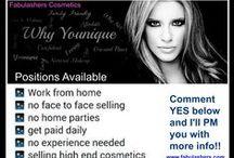 Fabulashers Cosmetics - Work from Home