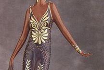 Aden- Art Deco Wedding Dress / Art Deco Wedding Dress