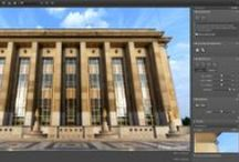 DxO ViewPoint / DxO ViewPoint imaging software is dedicated to correcting keystoning as well as deformations caused by the use of wide-angle lenses.