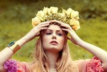 How to wear flowers