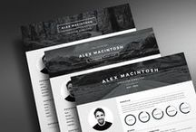 Creative Resume Template / Easy to customise creative resume templates designed to make you stand out from the crowd and land your dream job. Find out more at www.ikono.me