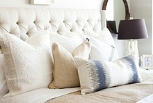 Master Bedroom Ideas / Ideas for decorating a master bedroom. / by Wendy Hyde