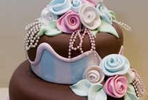 cake making/decorating / by Shannon Olson -A Southern Belle With Northern Roots/Junkflirt