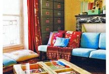 living room ideas / by Clare Raney