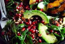 Vegetarian Salads / To go with my homemade soups and homemade breads! / by Kristen A. Kerr