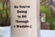 Fun Wedding Ideas! / Ideas to make your wedding extra special!