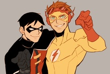 Young DC / Young Justice, Teen Titans, and other young DC content / by Larry Tripp