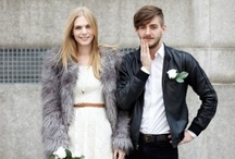 Just enough for the City... / Wedding inspiration for city weddings - fashion, photography and decor. LOVE