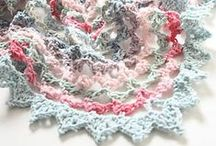Crochet - shawls, scarfs, cowls