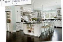 Kitchens! / Beautiful kitchen ideas for my current home and my future dream home! / by Erienne / B. Sue Living