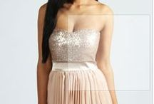 All that Glitters / IS gold. Amazing sequin inspiration for bridesmaids or wedding guests.