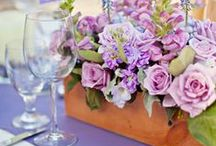 Radiant Orchid - 2014 Pantone Color of the Year / Pantone's Color of the Year for 2014 is Radiant Orchid, a gorgeous mix of fuchsia, purple and pink undertones. Check out wedding flowers and wedding ideas in this fabulous color!