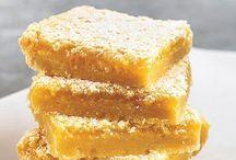 Lemon Bars / Lemon bars