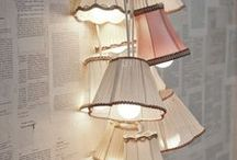 lamps & lighting / by Terri Rohling