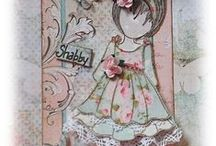 CREATING - Julie Nutting Paper Doll Tags and Cards / by Shona Hendrycks