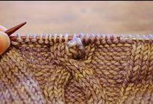Knit / Lavori che un giorno mi piacerebbe provare