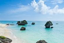 Okinawa (沖縄) Japan / Okinawa Japan offers much more than people usually expect! So much history and tradition, beaches of crystal clear blue/green waters and white sand, amazing music and food... a Japanese paradise! → Visit us @ www.boutiquejapan.com