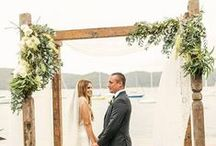 Wedding ceremonies / Wedding ceremonies with a vintage &/or rustic aesthetic