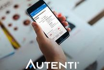 Autenti.com / Mobile, web and CI design created for Autenti.com - platform for authorization of documents and signing contracts online
