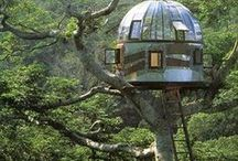 Weekend Cabins & Treehouses / All Things Treehouse