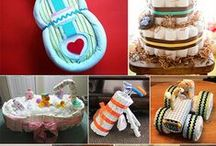 Diapers Cake (Torte di Pannolini) / Ideas and tutorial