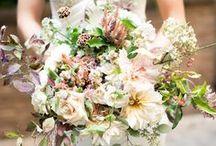 Wedding Florals Inspiration / color palettes, design, decor for current and future brides alike