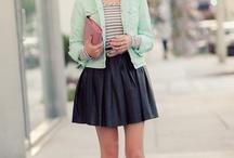 Faldas de cuero/Leather skirt
