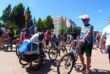 Wielki Przejazd Rowerowy 2013 / Gdyński odcinek peletonu północnego to mocny punkt w corocznej edycji WPR. Było sporo ludzi i pogoda dopisała. W całem WPR 2013 wzięła udział rekordowa liczba rowerzystów - ponad 10 000!!!