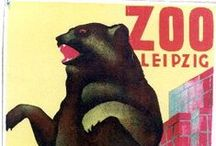 Animal Vintage Posters / Original vintage posters featuring animals