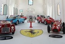 Italian Cars showroom in Modena / Autosaloni e musei di automobili a Modena e dintorni. Place in which cars of historical, artistic, or cultural interest are stored and exhibited in Modena (Italy)