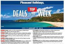 Travel Deals Galore! / Pleasant Holidays Top Deals of the Week and Hot Deals campaigns