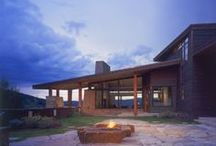 project | Old Pond Residence / Precedent Imagery for Private Residence, Pitkin County, CO