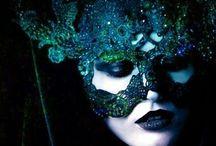 Mask and fantasy makeup / by Nilvia Cristina Niño