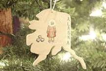 Christmas in Alaska / Alaskan Art at Christmas! Celebrate Christmas and your Alaskan Memories with Artwork from Alaskan Artists...
