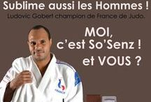 So'Senz Paris // Égérie Ludovic Gobert 2015 / Notre égérie 2015. Ludovic Gobert Champion de France de judo.