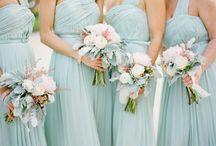 wedding; bridesmaids