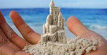♥ SOCHY * z písku ♥ / ♥ Tady je vidět, že na písku si nehrají jen děti ...♥