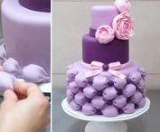 ♥  VIDEO * dorty a dekorace  ♥ / ♥ Krásně ozdobený dort, ten vždy potěší * Tady jsou ukázky, že i když to na pohled vypadá složité, s trochou trpělivosti to zvládneme také ♥