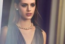 Glamorous Gold - UK / A collection of Mikimoto's finest Golden South Sea cultured pearl jewelry. / by Mikimoto